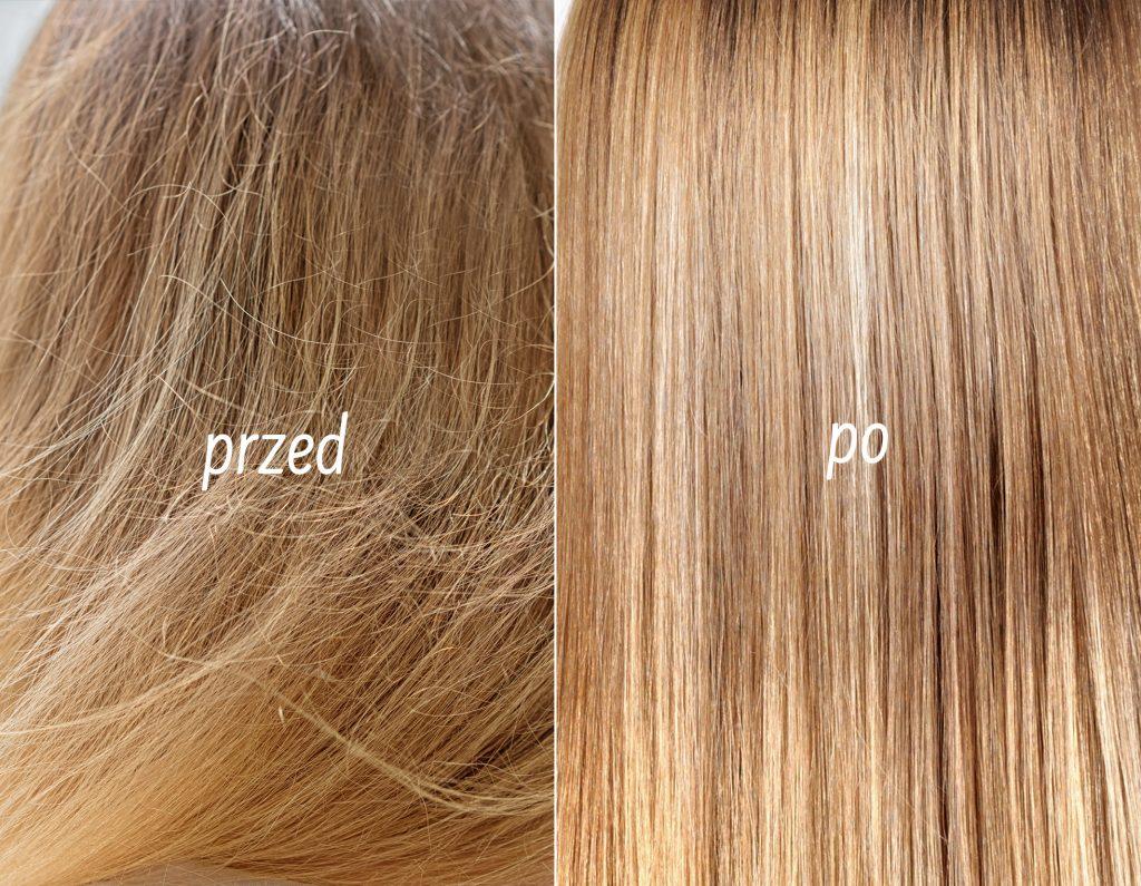 efekty olejku do włosów nanoil na moich włosach