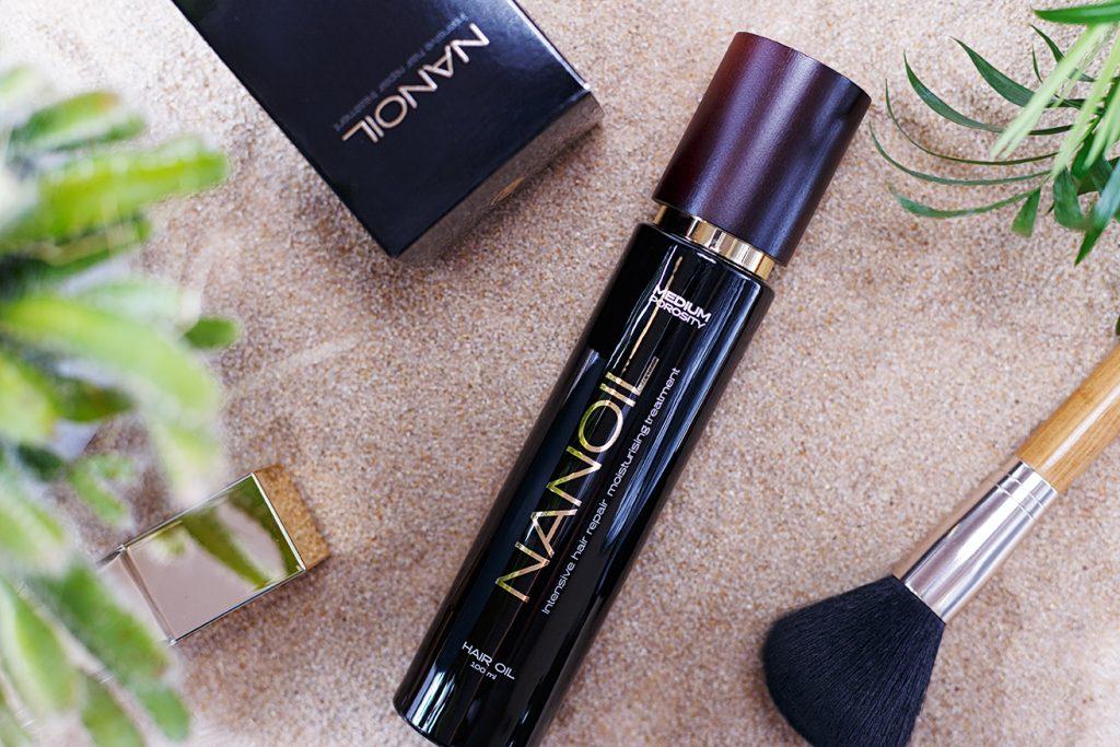 najlepszy olejek do włosów - nanoil medium porosity