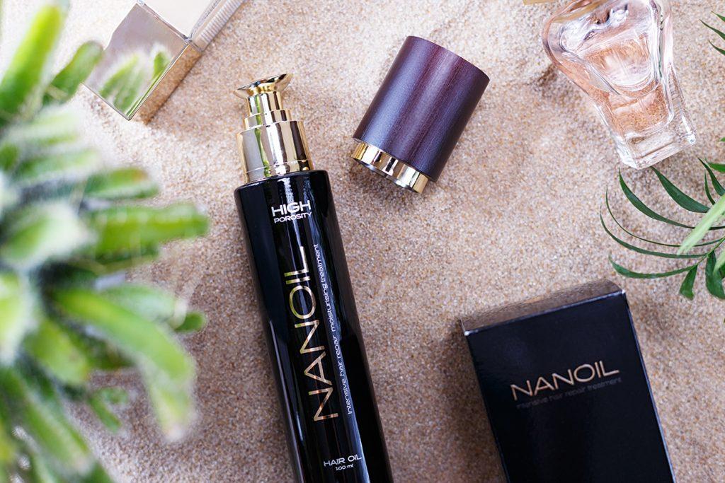 nanoil olejek do włosów zniszczonych - nanoil high porosity