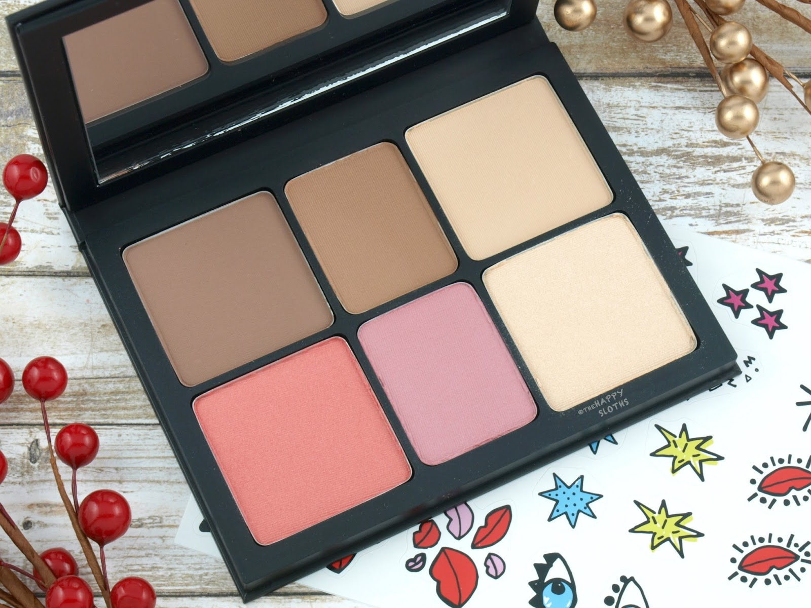 smashbox-holiday-2017-drawn-in-decked-out-sculpting-cheek-palette-review-swatches-2