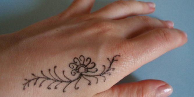 Mehendi Sztuka Tatuażu Jak Zrobić Tatuaż Z Henny